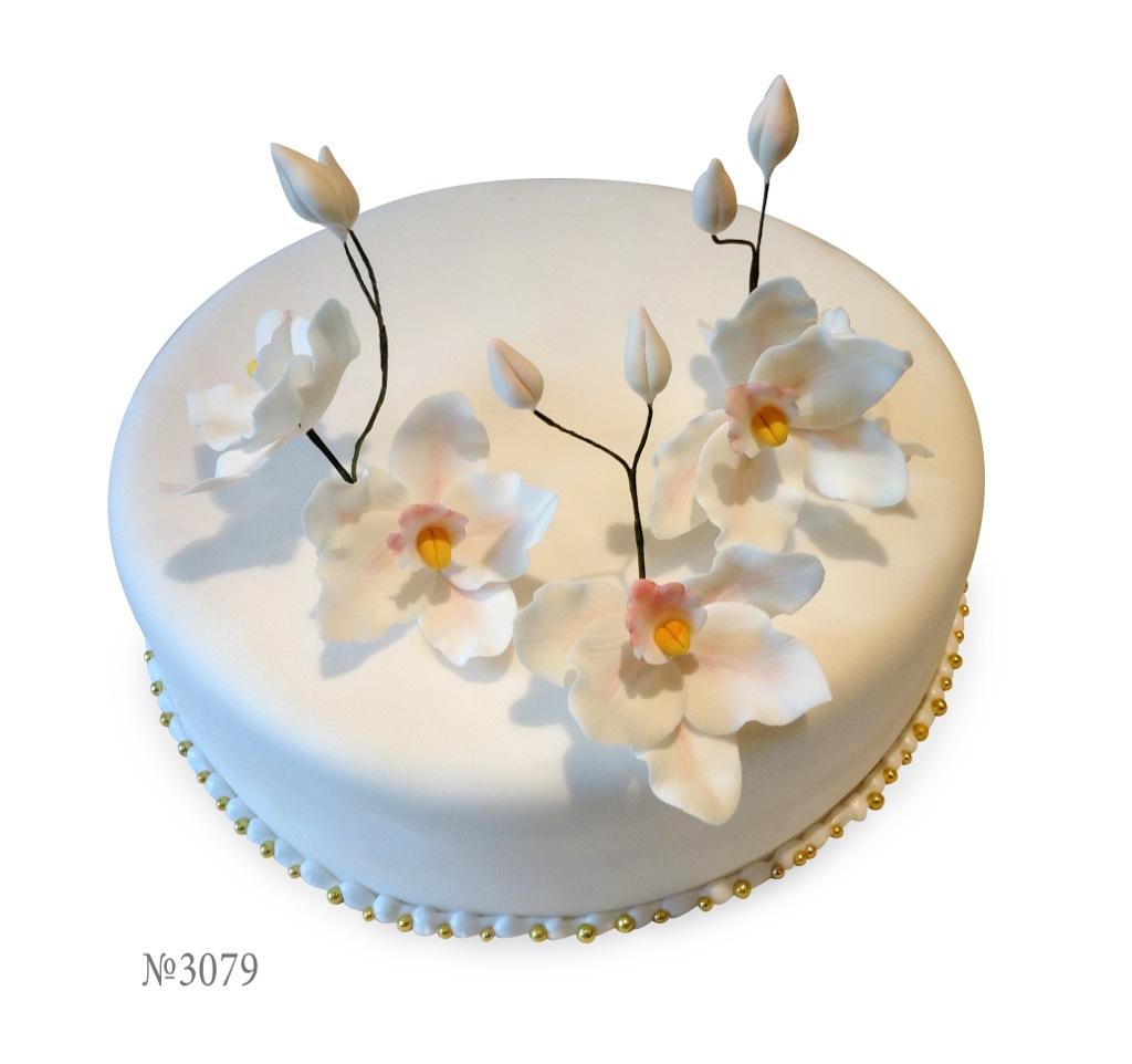 Торт на год с фруктами фото 1